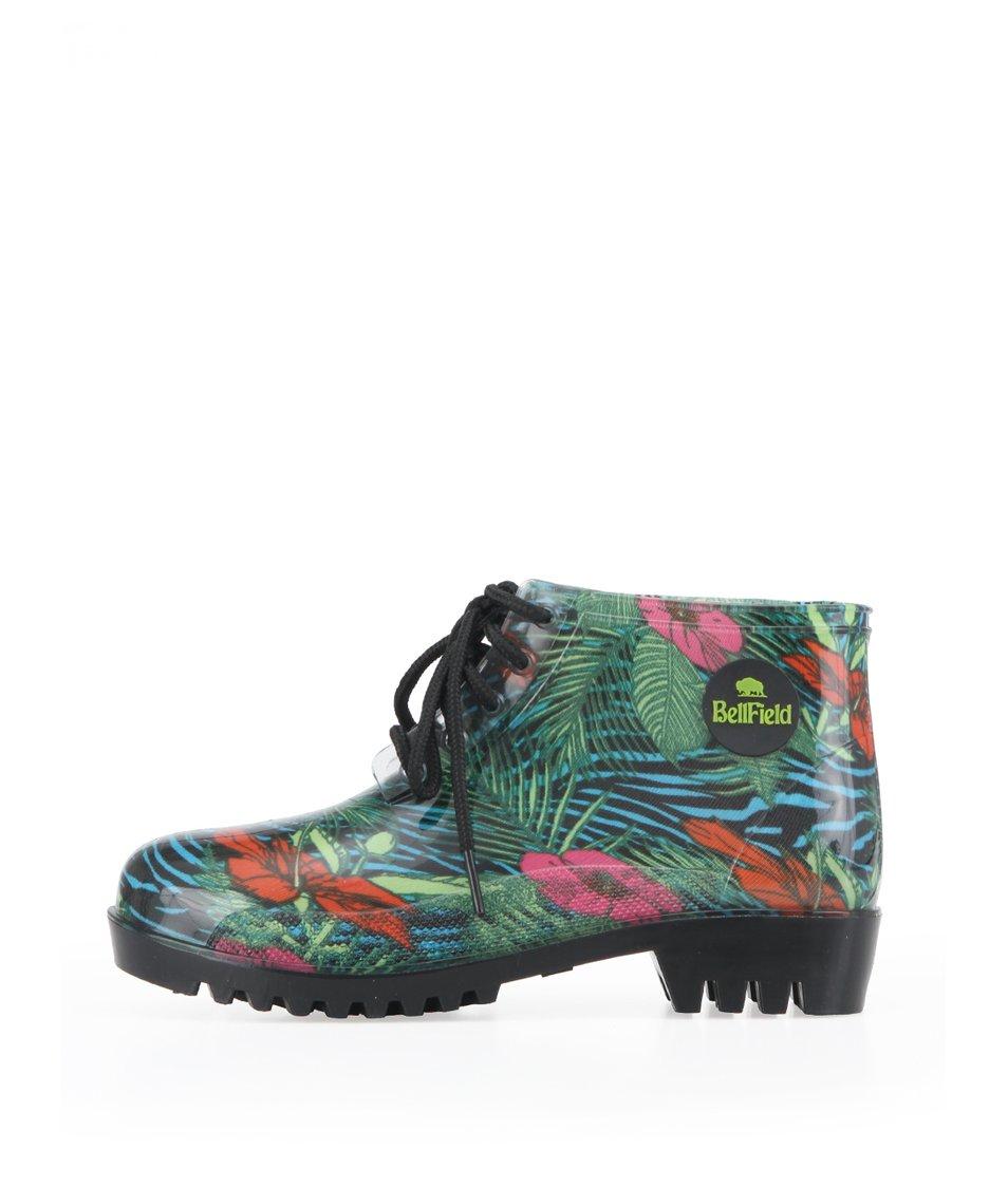Barevné dámské gumové boty Bellfield Ogowe
