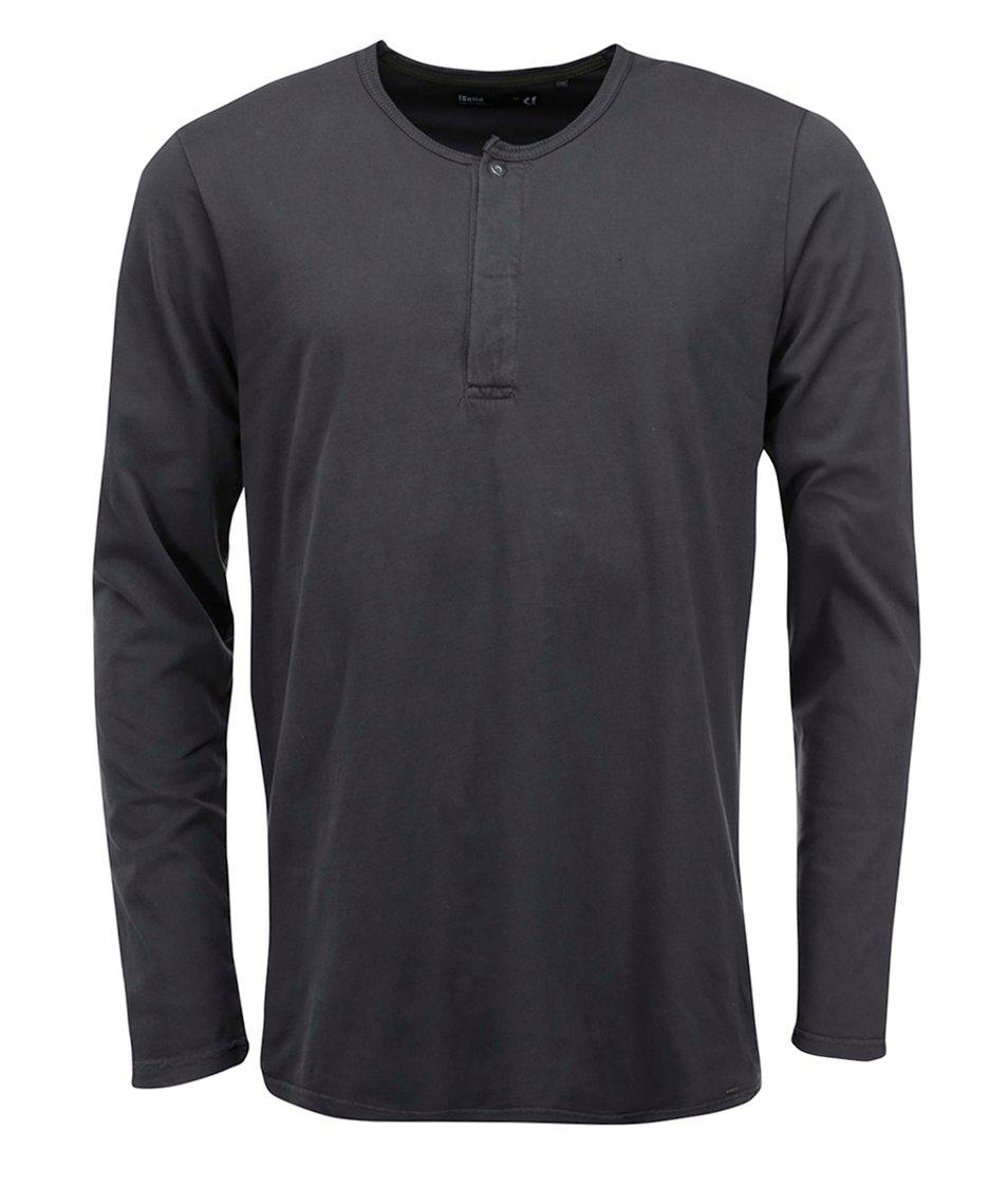Tmavě šedé triko s dlouhým rukávem !Solid Raghnall