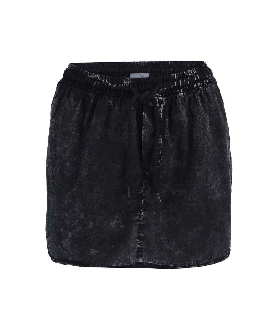 Černá vyšisovaná sukně Noisy May Sherry