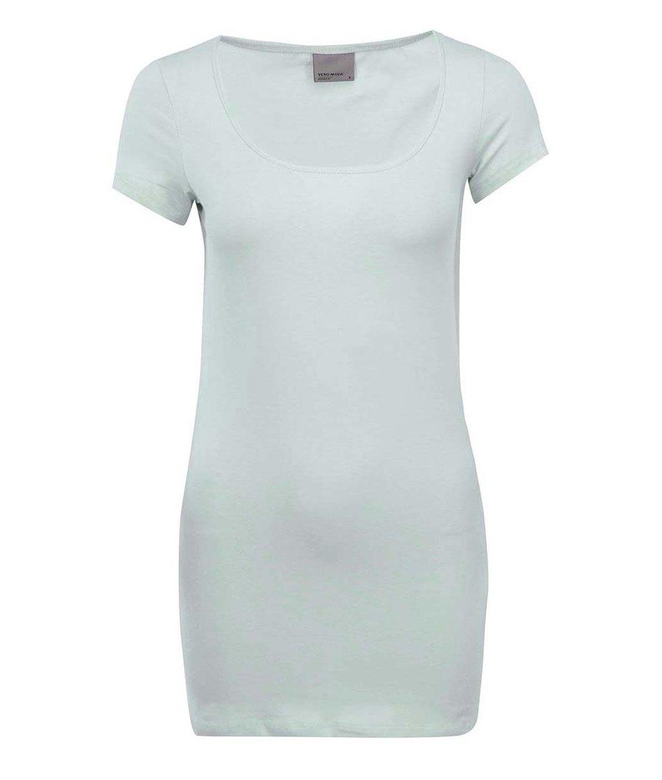 Světle mentolové tričko Vero Moda Maxi