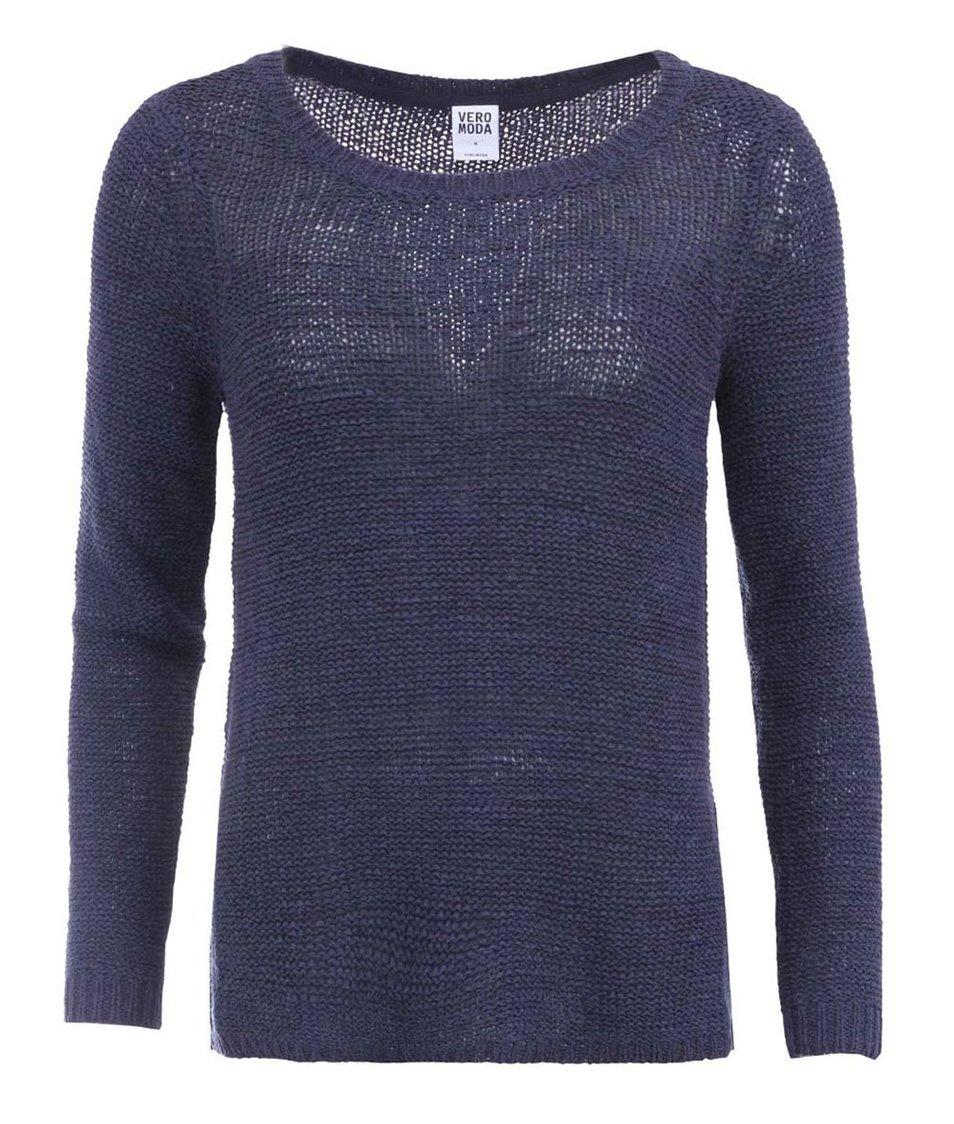 Tmavě modrý svetr Vero Moda Charity