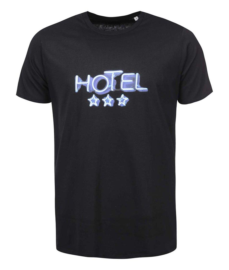 Černé pánské triko ZOOT Originál Hotel