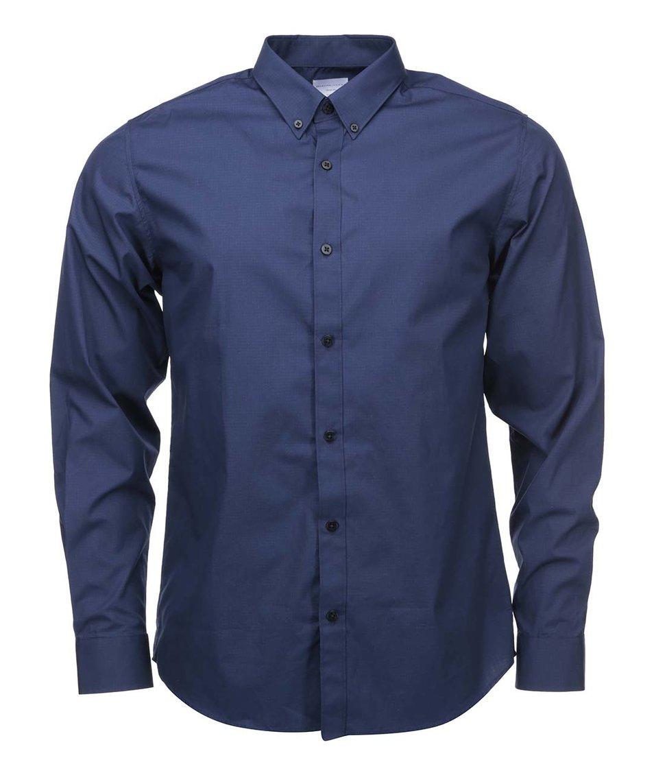 Modrá košile slim fit Selected One Chris