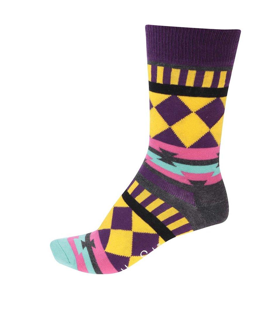 Barevné dámské ponožky Happy Socks Disco Tribe