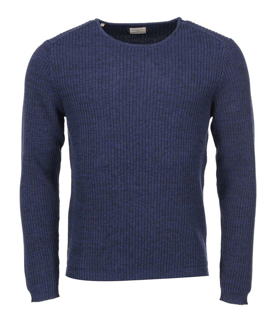 Tmavě modrý svetr Selected Keen