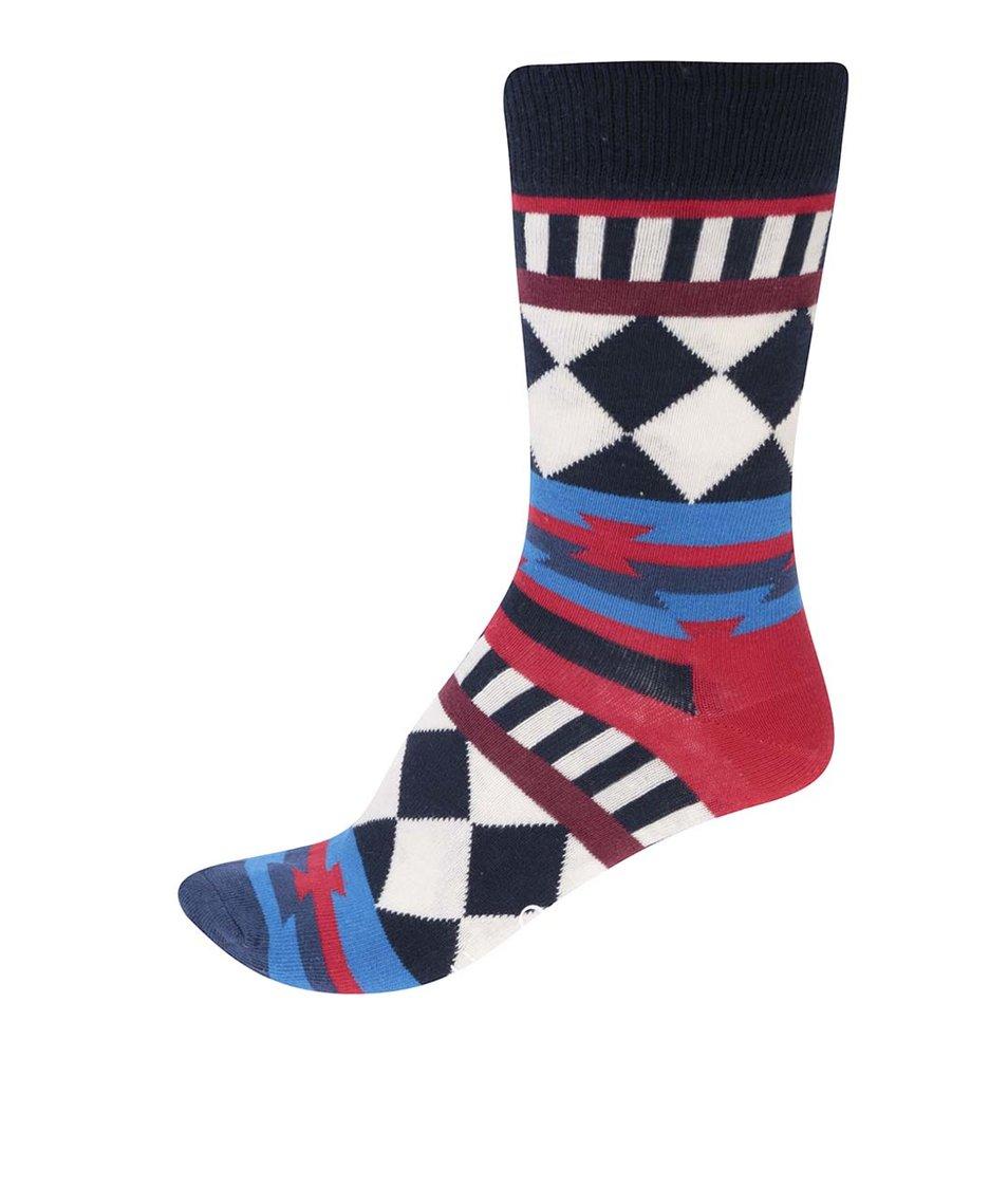 Barevné unisex ponožky Happy Socks Disco Tribe