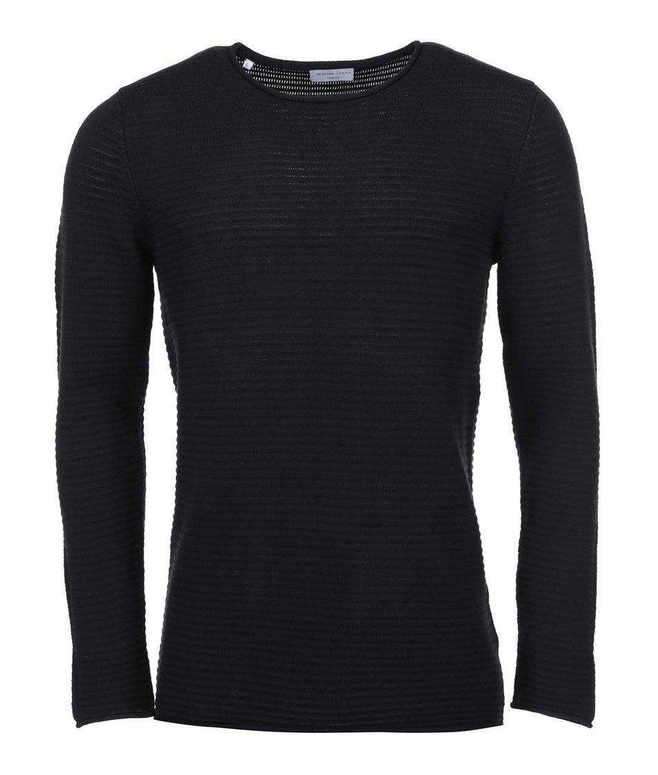 Černý svetr Selected Gary