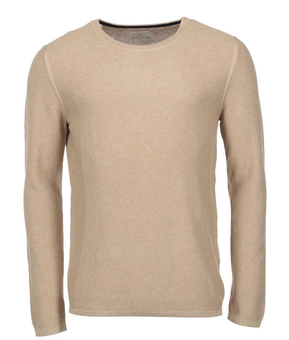 Béžový svetr Selected Anton