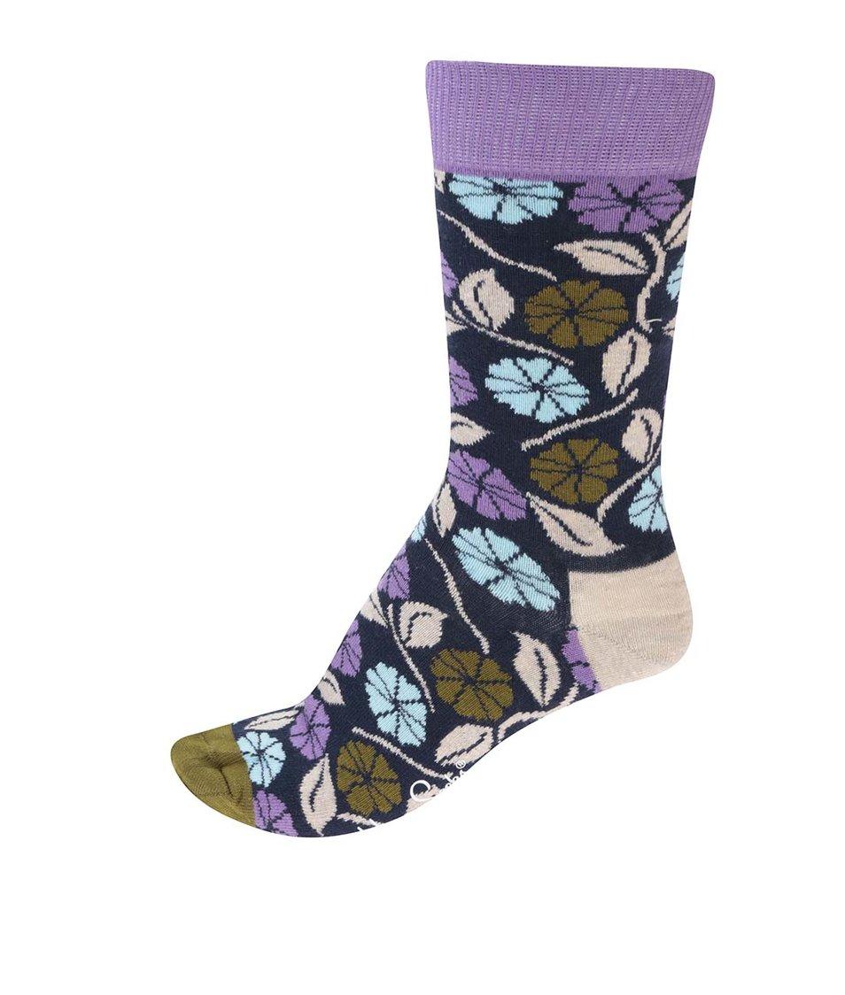 Barevné dámské květované ponožky Happy Socks Desert Flower