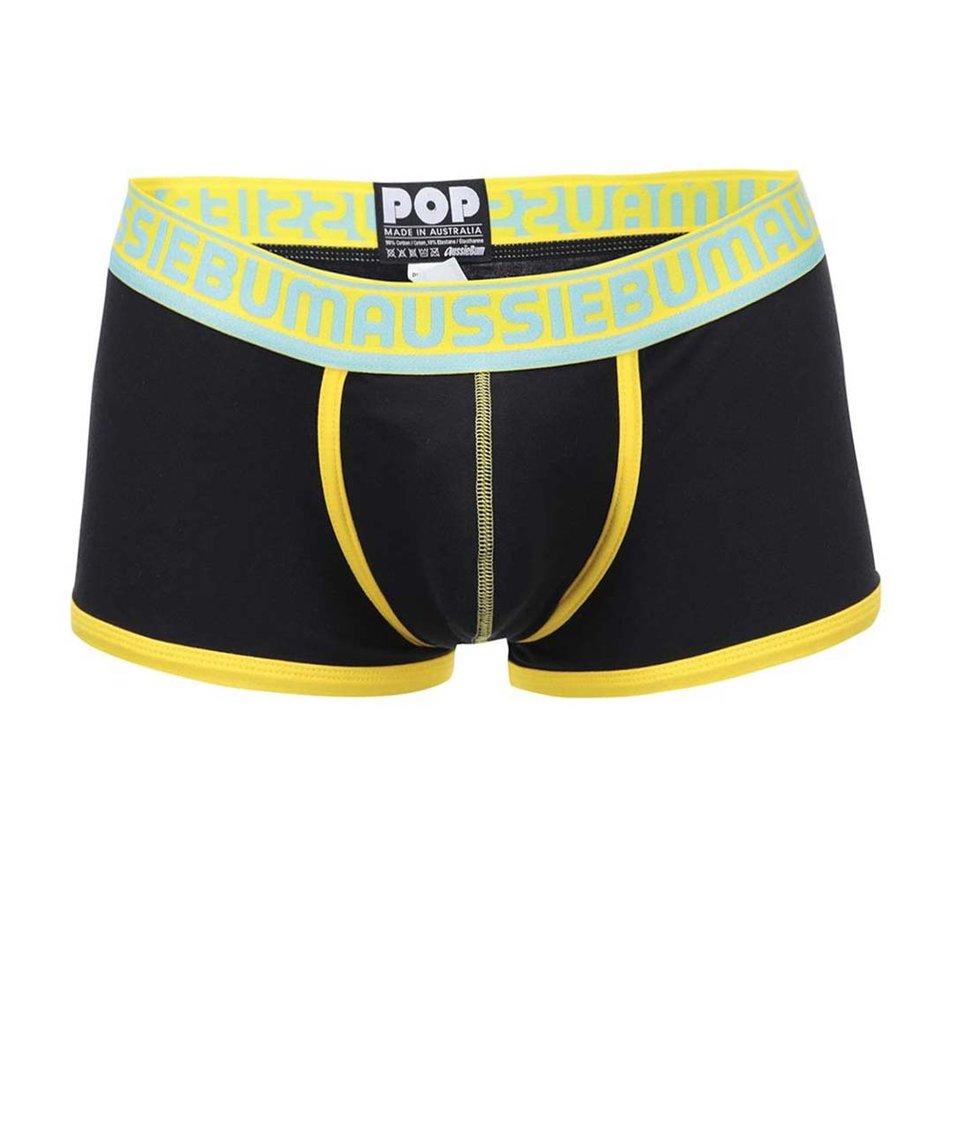 Žluto-černé boxerky aussieBum Pop
