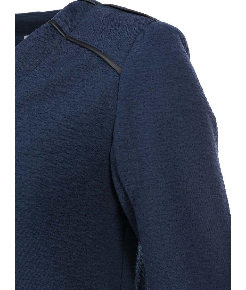 Tmavě modrý blejzr Vero Moda Crissi