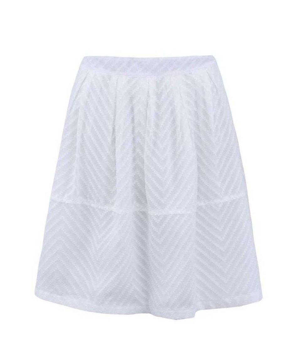 Bílá sukně Skunkfunk Ysolde