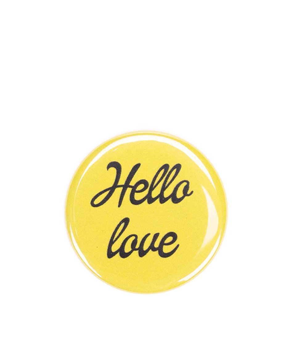 Žlutá placka ZOOT Originál Hello love