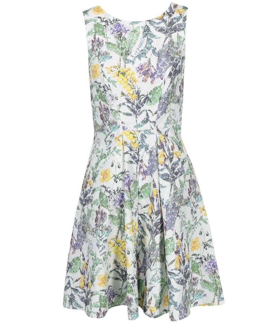 Barevné šaty s květinami Closet