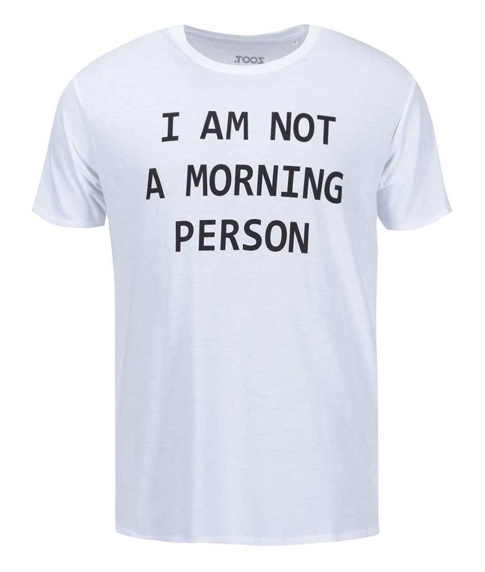 Bílé pánské triko ZOOT Originál Morning Person