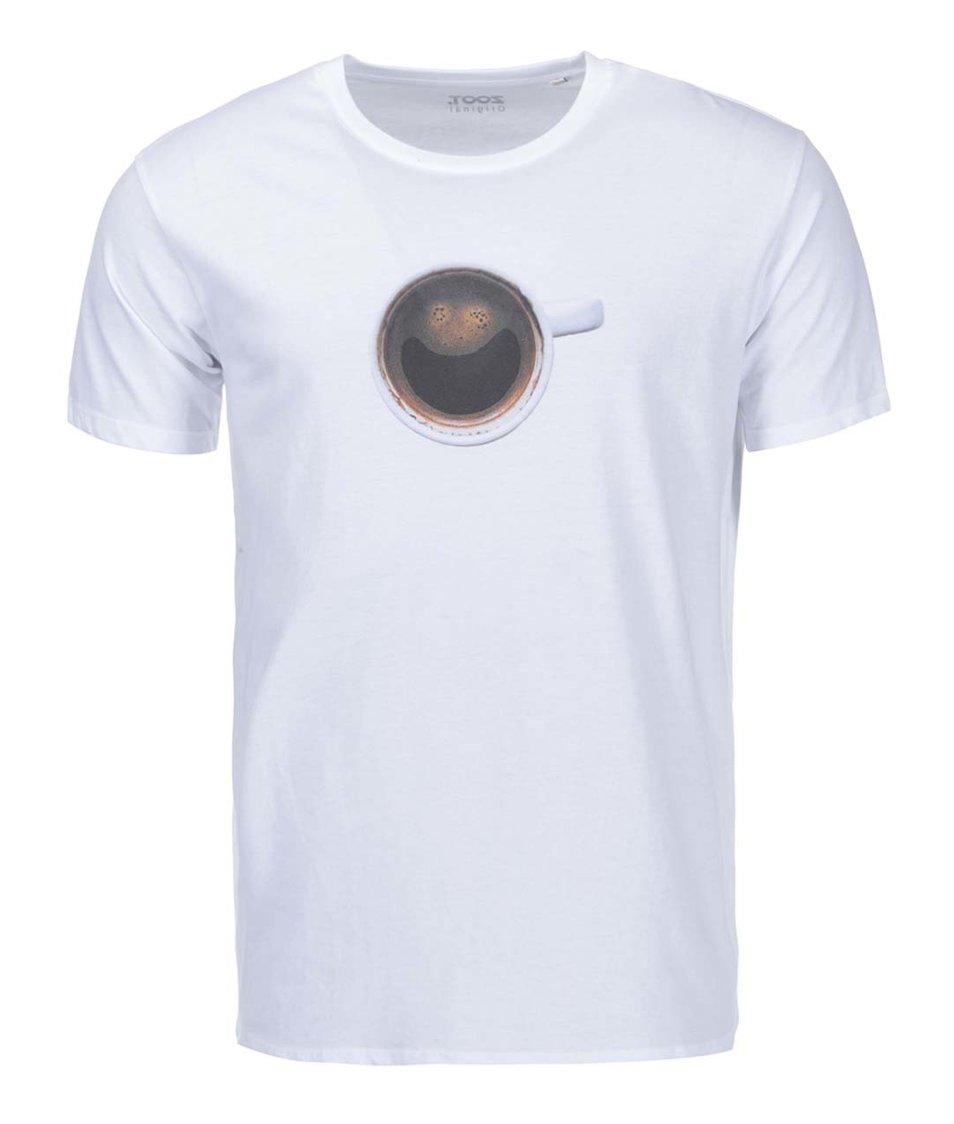 Bílé pánské triko ZOOT Originál Coffee