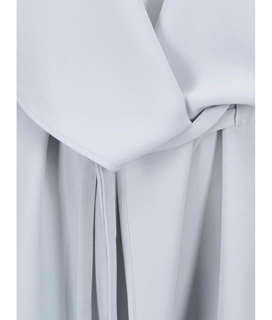 Světle šedý dlouhý blejzr Vero Moda List