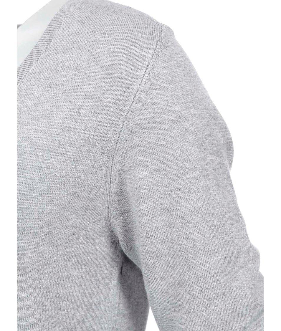 Světle šedý cardigan Vero Moda Glory