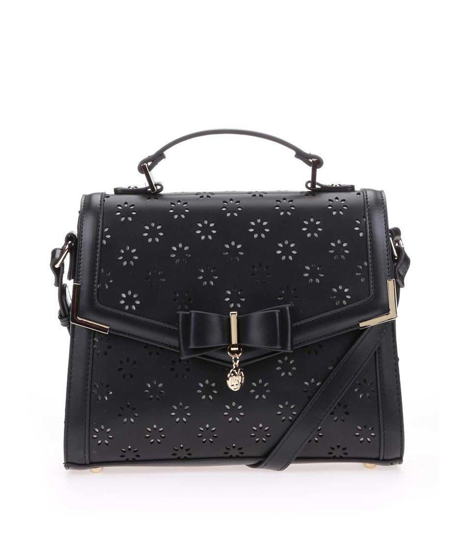 Černá kabelka s mašlí LYDC