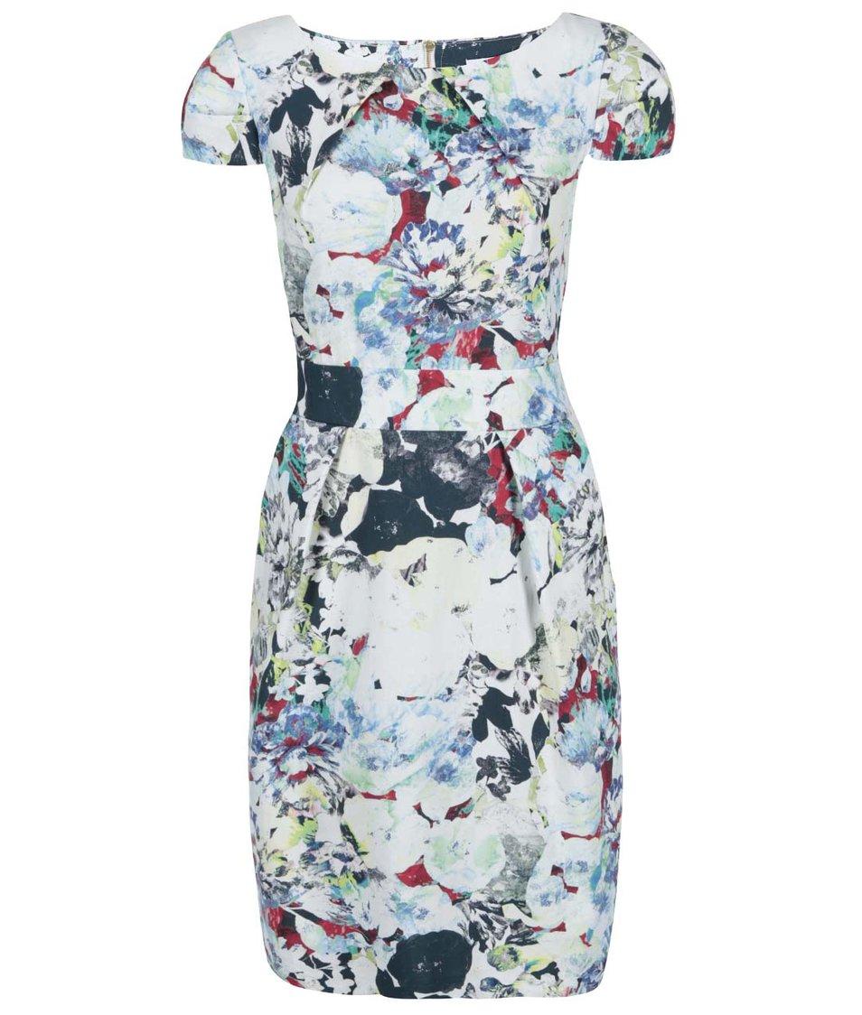 Barevné šaty s květovaným potiskem Closet