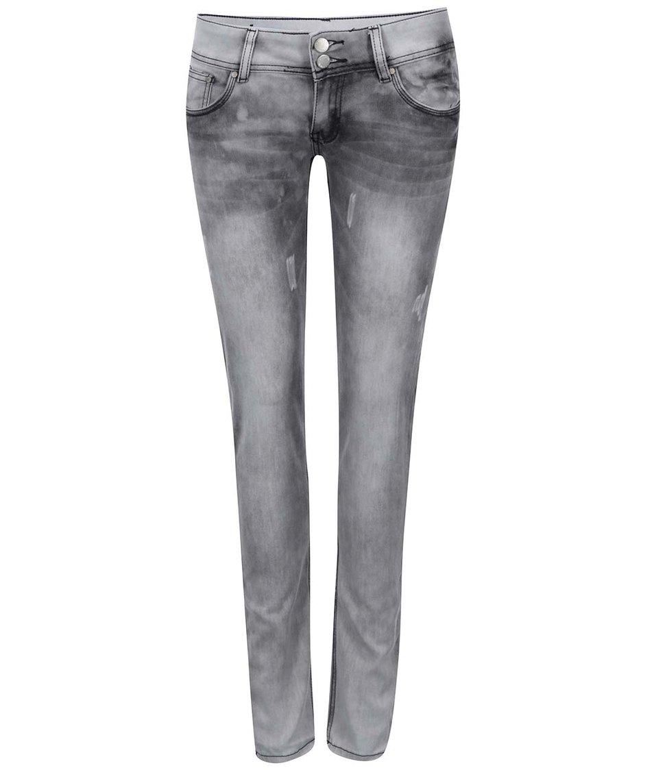 Světle šedé džíny Haily´s Catty