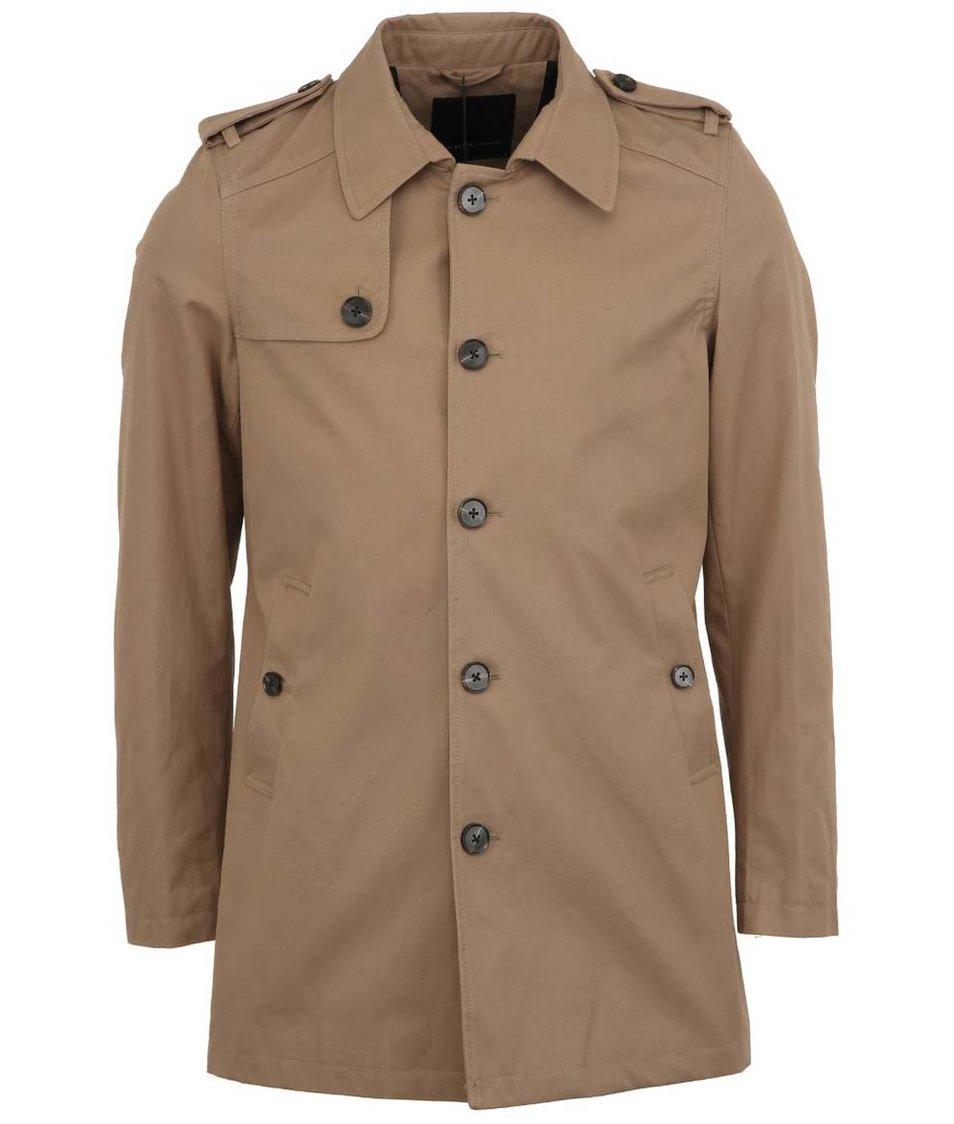 Béžový kabát Selected Derek