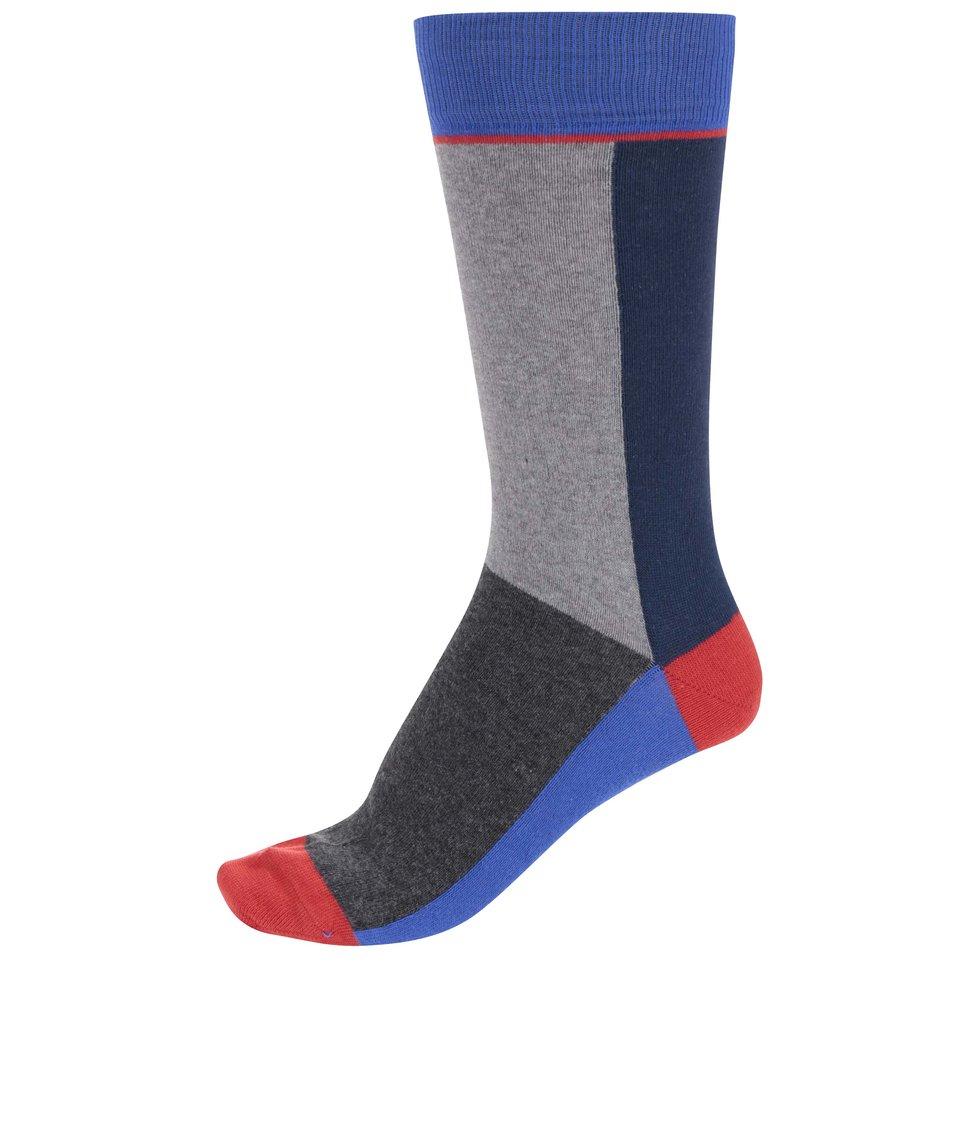 Šedo-modré ponožky CR7