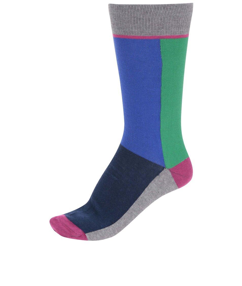 Zeleno-modré ponožky CR7