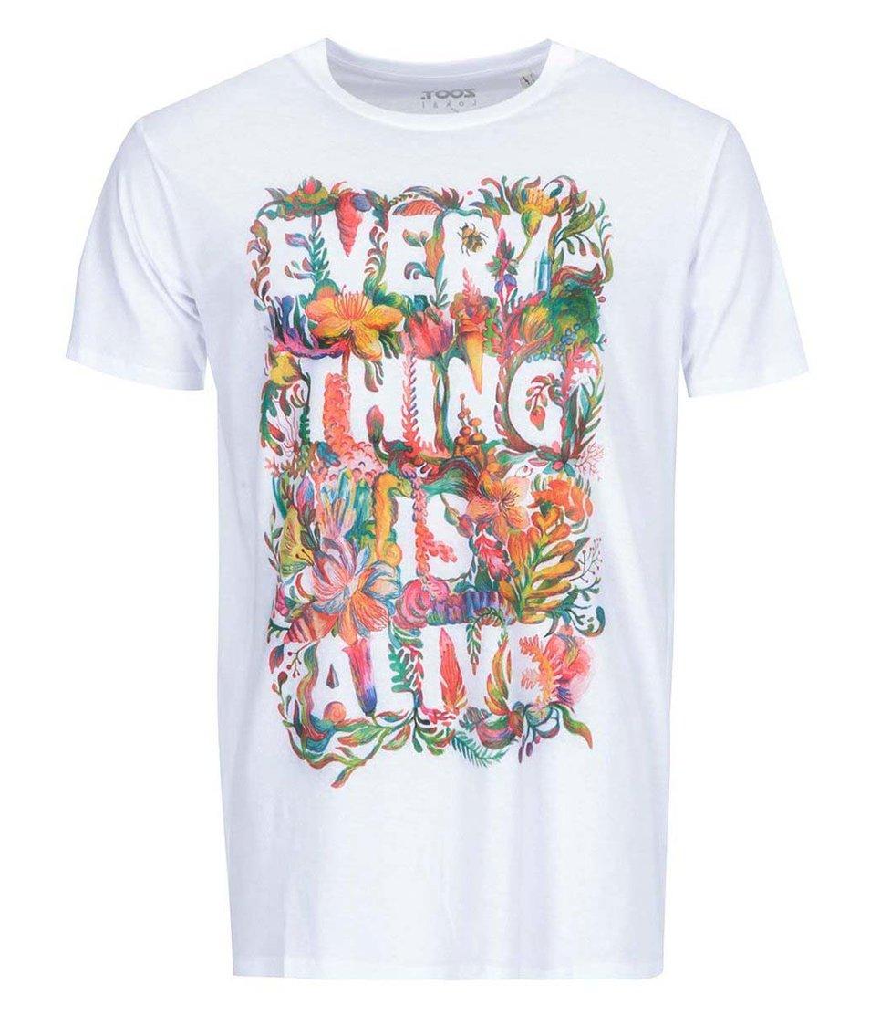 Bílé pánské triko ZOOT Lokál Everything Is Alive