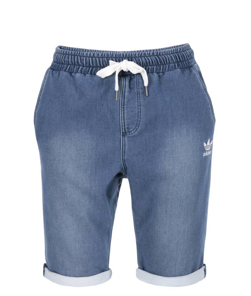 Modré pánské kraťasy adidas Originals Denim