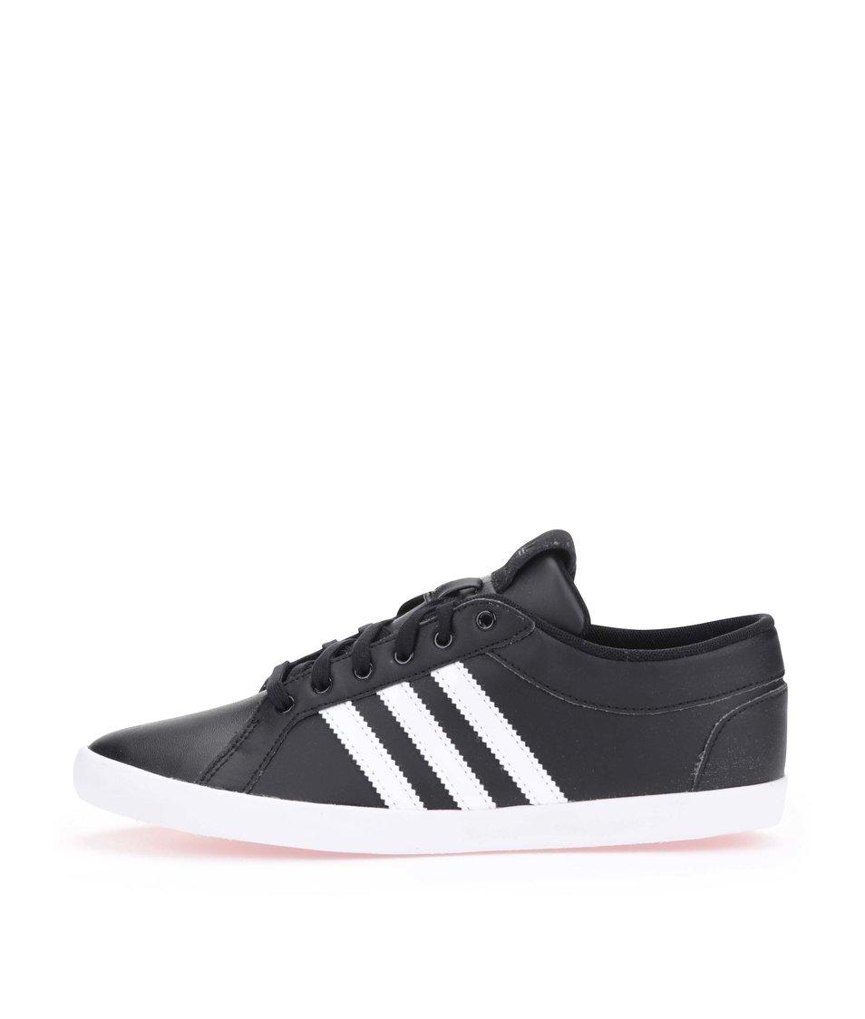 Černé dámské kožené tenisky adidas Originals Adria - Vánoční ...
