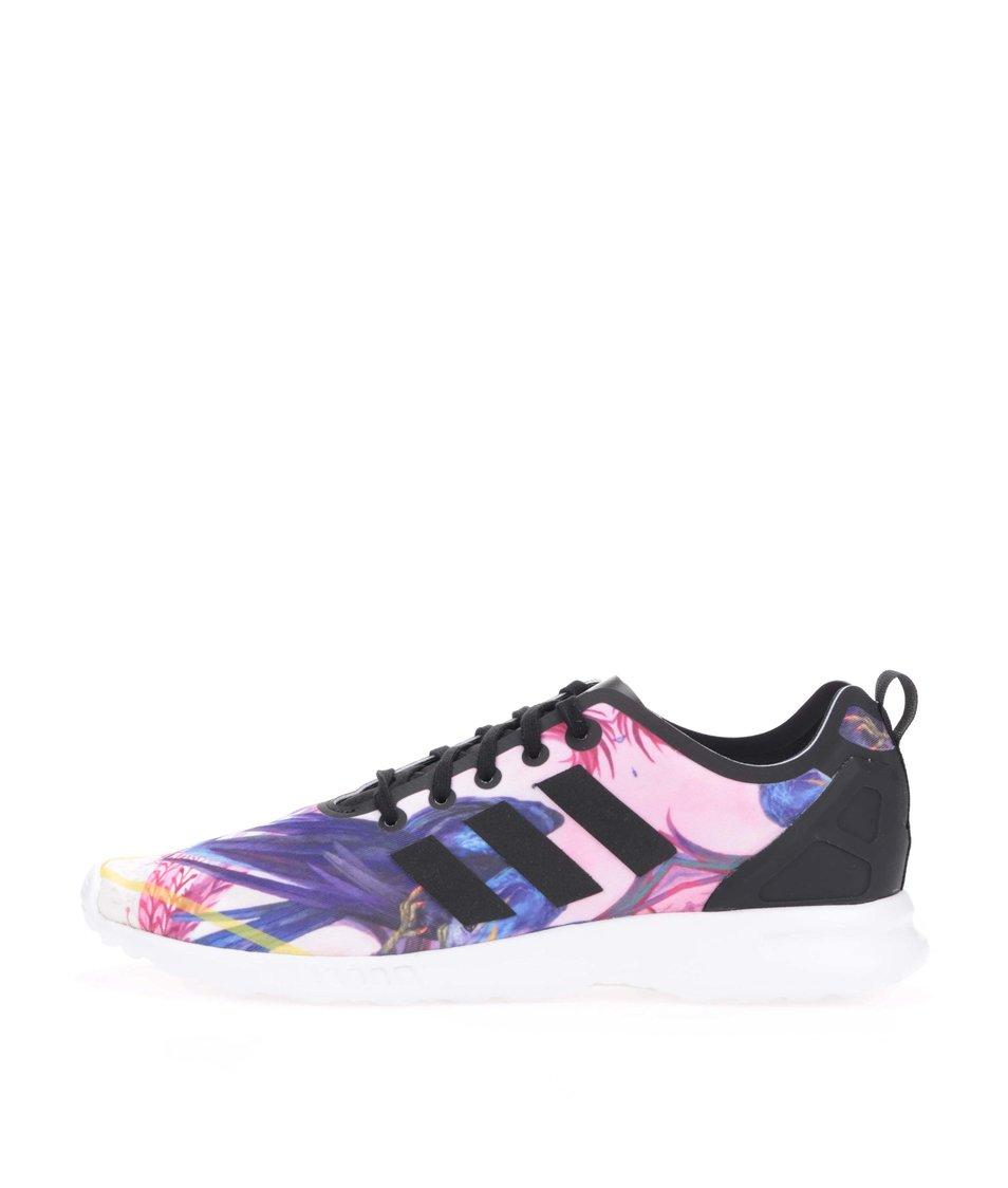 b29ec6b28 Barevné dámské tenisky adidas Originals ZX Flux Smooth