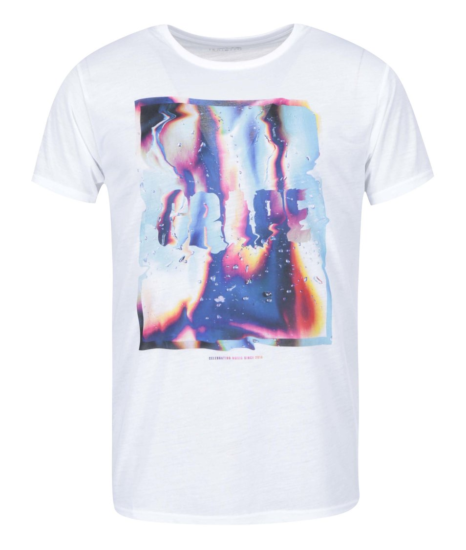 Bílé pánské triko Grape Liquid Love