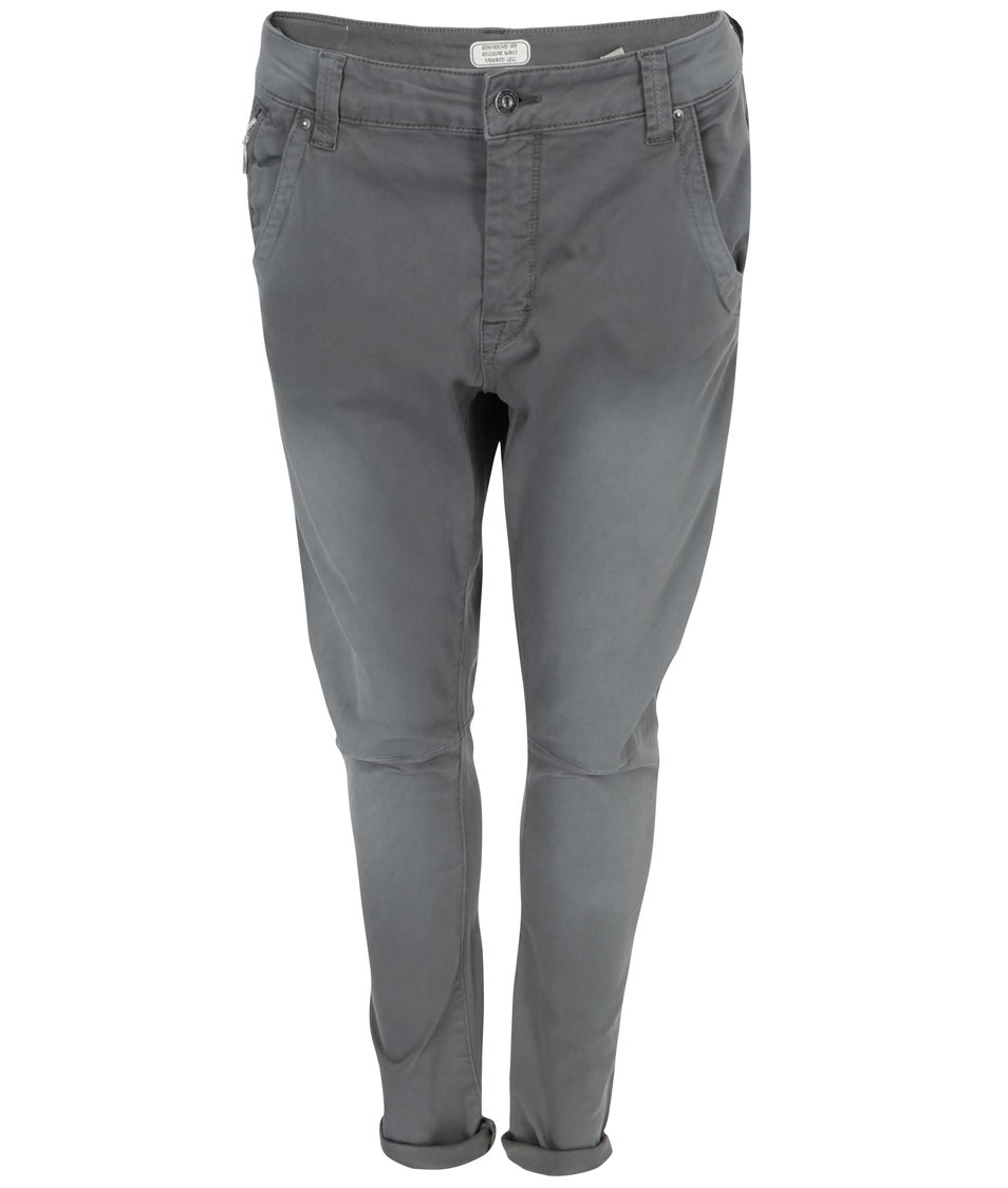 Šedé dámské tříčtvrteční kalhoty Pepe Jeans Topsy