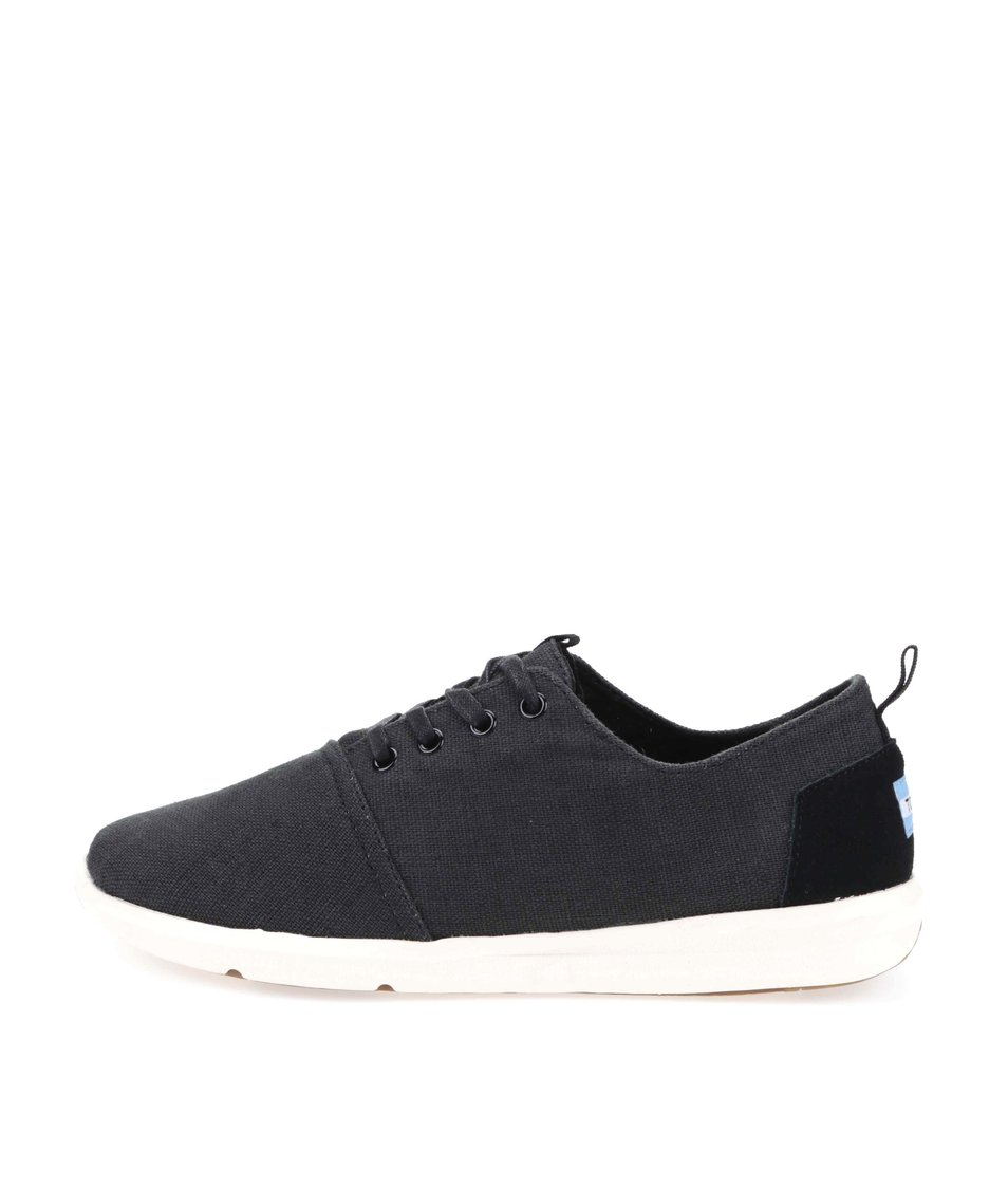 Černé pánské tenisky Toms Viaje Sneaker
