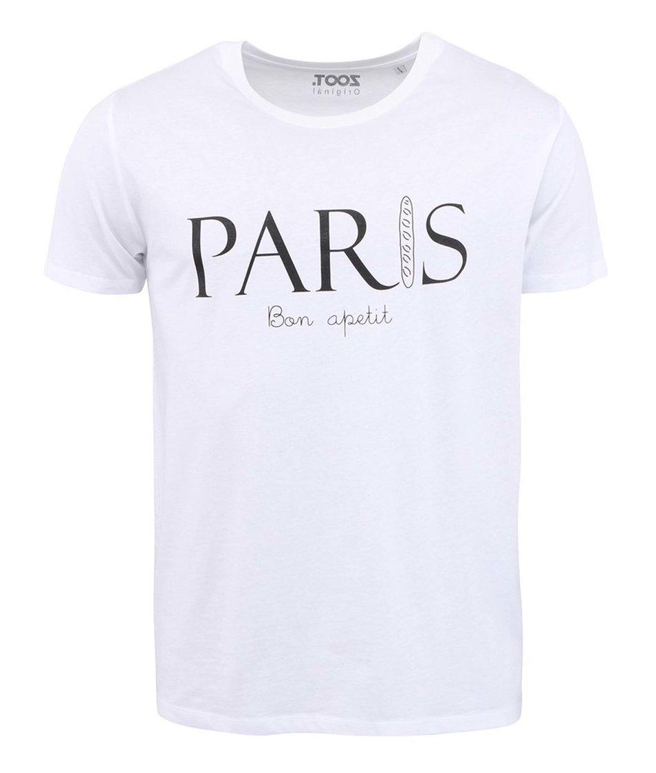 Bílé pánské triko ZOOT Originál Paris