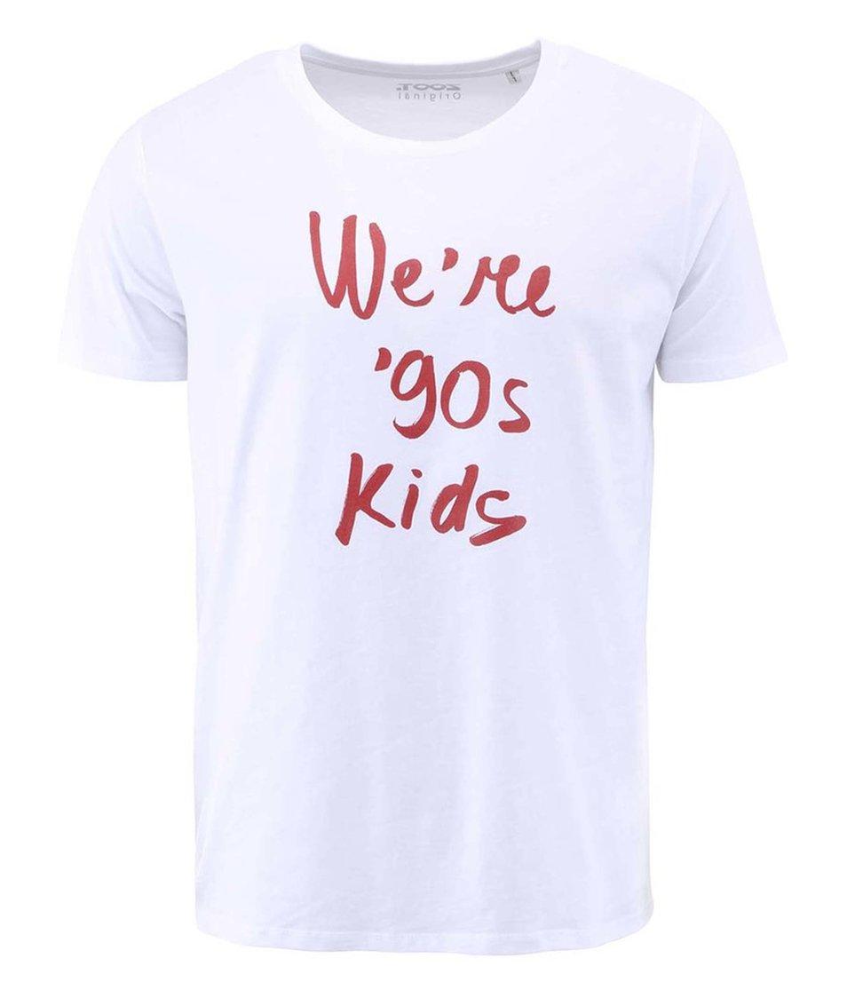Bílé pánské triko ZOOT Originál We´re 90s kids