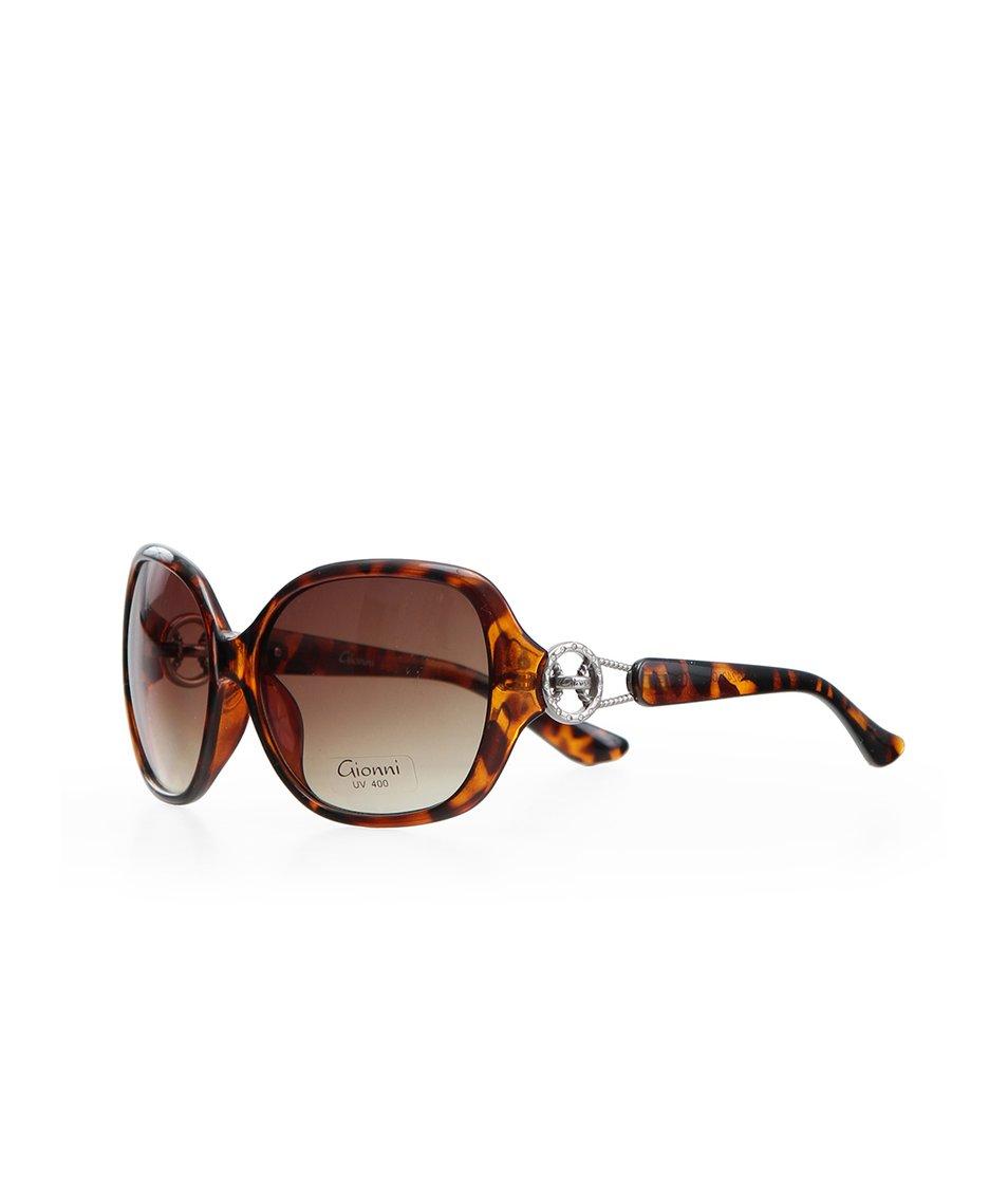 Želvovinové dámské glamour brýle Gionni