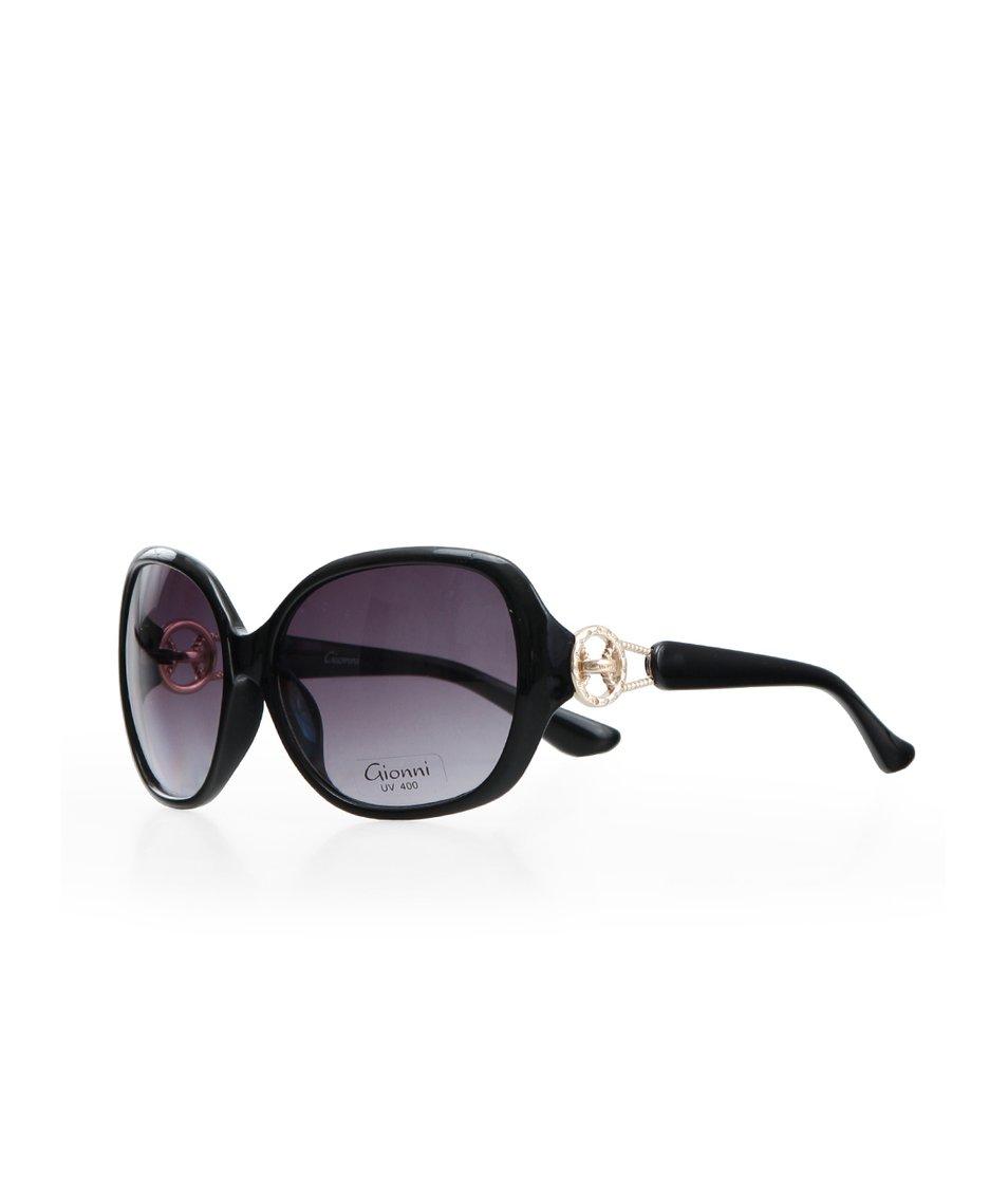 Černé dámské glamour brýle Gionni