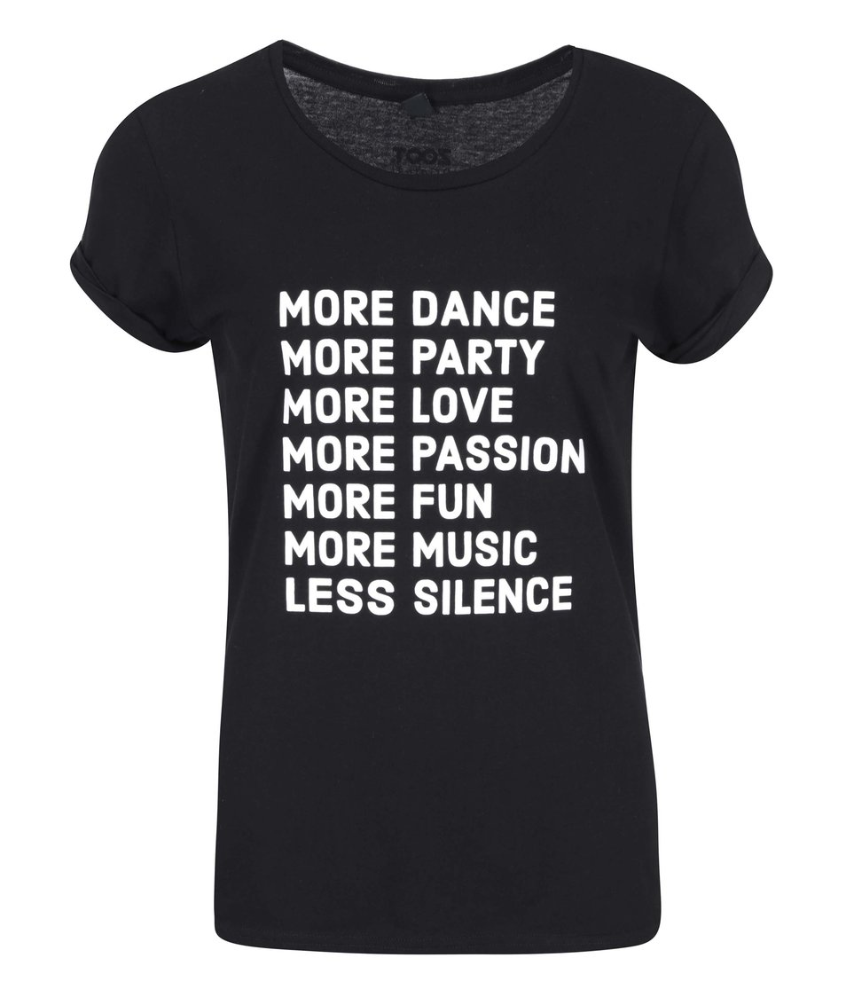 Černé dámské tričko ZOOT Originál More dance