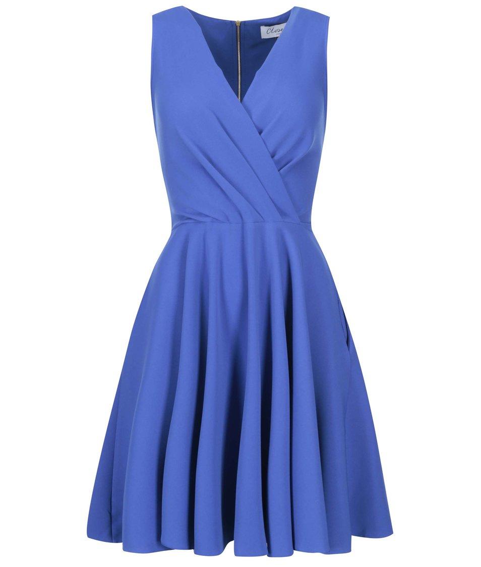 Královsky modré šaty Closet