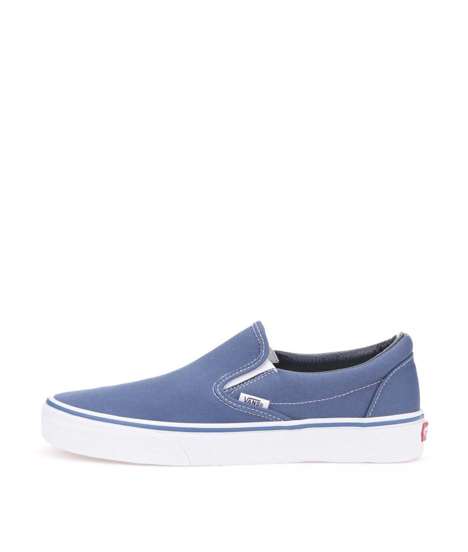 Modré unisex slip-on tenisky Vans Classic