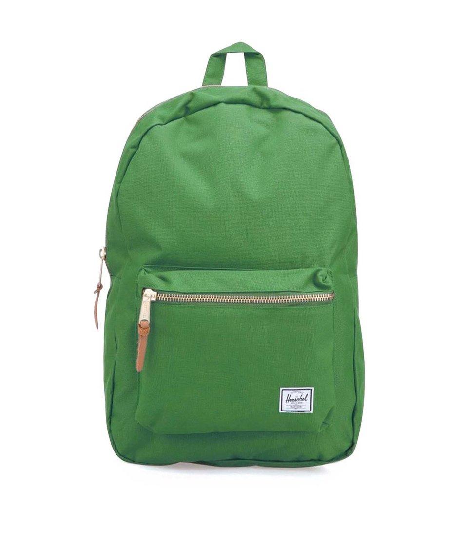 Zelený batoh Herschel Settlement