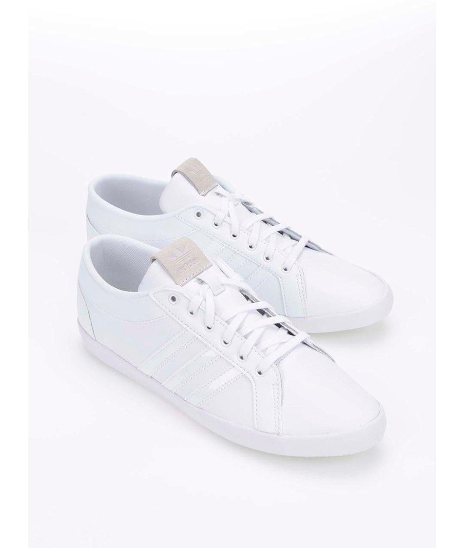 Bílé dámské kožené tenisky adidas Originals Adria - Vánoční ...