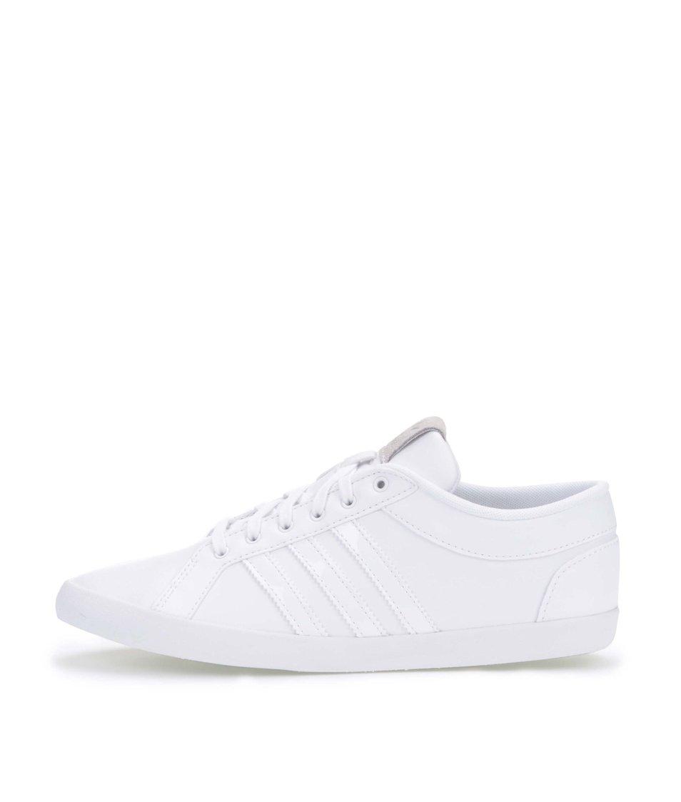 Bílé dámské kožené tenisky adidas Originals Adria