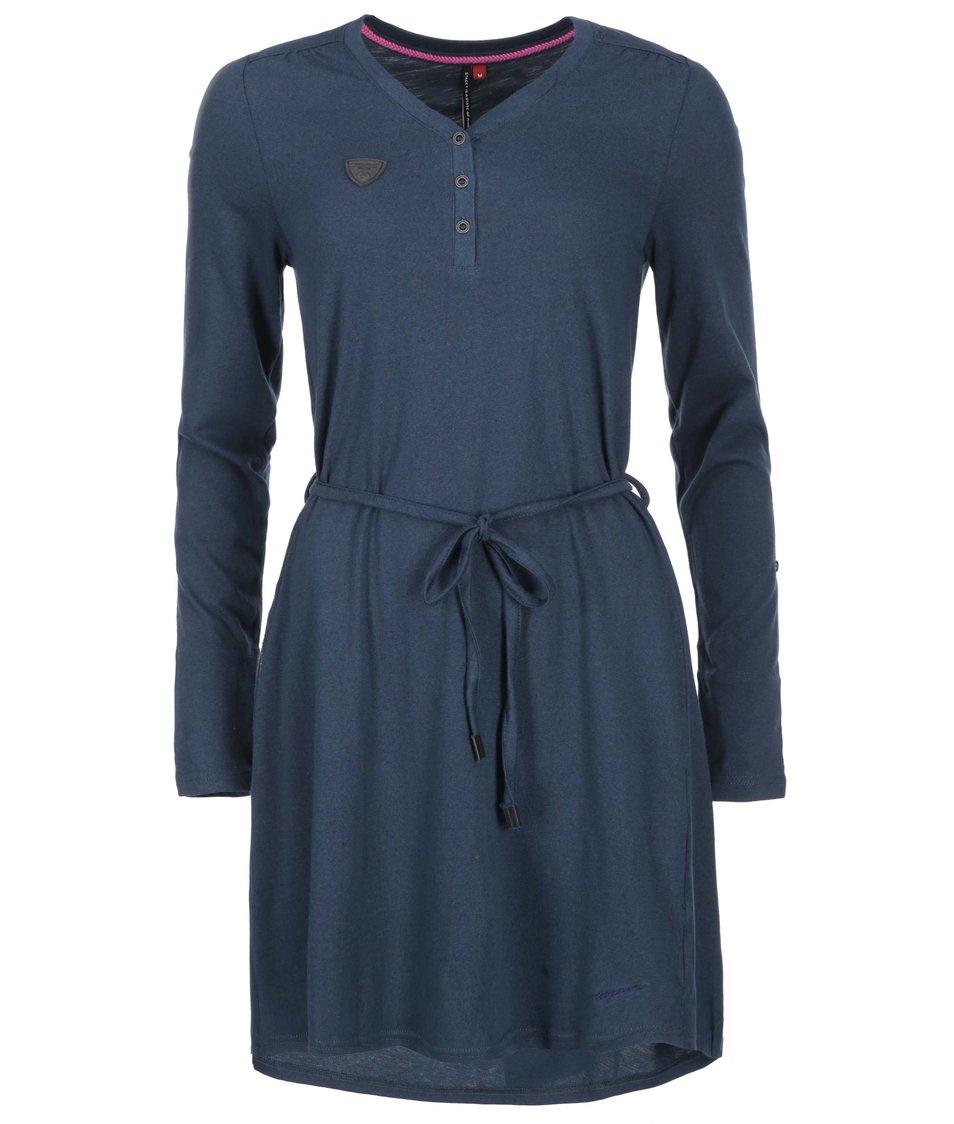 Tmavě modré šaty Ragwear Sista