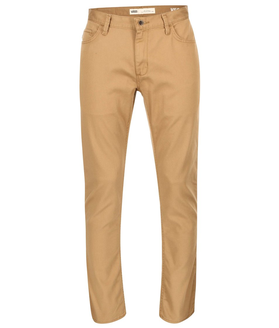 Hnědé pánské kalhoty Vans Standard