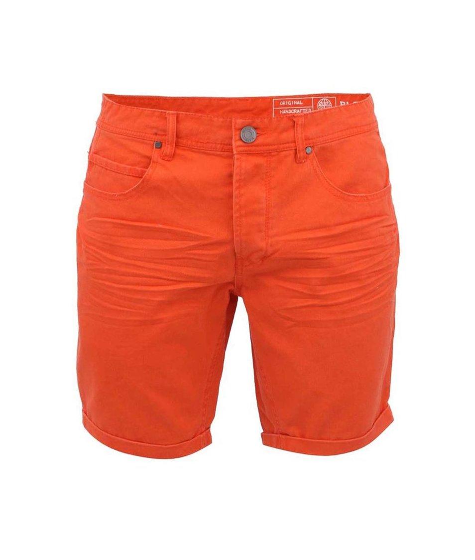 Oranžové džínové kraťasy Blend