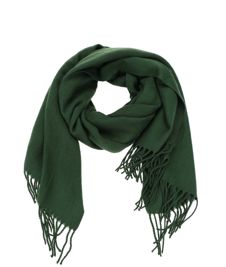 Zelená šála Vero Moda Solid