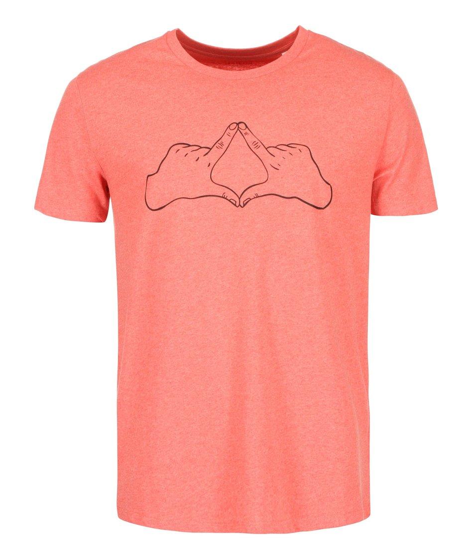 Červené pánské triko ZOOT Originál Kosočtverec